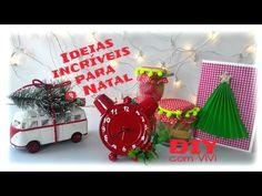 Ideias incríveis para o Natal Ft. Show de Artesanato /  Diy Christmas decoration - YouTube