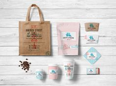 Branding for the coffee shop Coffee Station on Behance