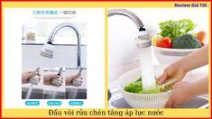 Vòi rửa chén bát tăng áp lực nước xoay 360 độ Chen