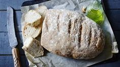 The Spanish love their bread and after tasting this, so do we! With the starter mix, it's halfway to a sourdough and it's a good old-fashioned hearty bread that keeps well.