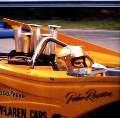 Peter Revson McLaren M8F Chev 1971...