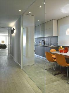 Modern Home Decor Kitchen Flur Design, Küchen Design, House Design, Living Room Kitchen, Home Decor Kitchen, Interior Design Kitchen, Modern Kitchen Cabinets, Nice Kitchen, Open Concept Kitchen