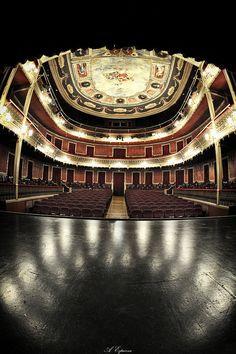 Photo take at scene from Vico Theater. Jumilla (Murcia) Spain.