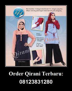 Baju Qirani atasan model 144,  Hubungi : Whatsapp : +62 812-3831-280 SMS : +62 812-3831-280 BBM : 5F03DE1D