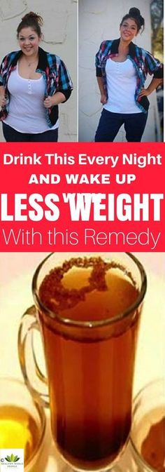 Drink This Every Night and Wake Up With Less Weight – the Remedy Removes the Fat Consumed During the Day Immediately! - Healthy World People Weight Loss Plans, Best Weight Loss, Weight Loss Tips, Losing Weight, Lose Weight Naturally, How To Lose Weight Fast, Health Tips, Health And Wellness, Health Benefits
