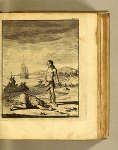 W: Dampier en L: Wafers Reystogten rondom de waereldt; : - Biodiversity Heritage Library