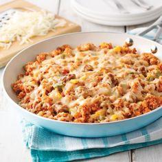 One pot quinoa au chili - Soupers de semaine - Recettes 5-15 - Recettes express 5/15 - Pratico Pratique
