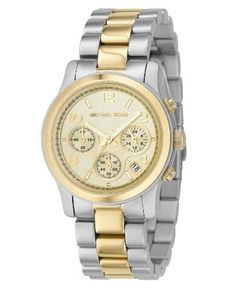 8842092a1eb5 Michael Kors Watch for Women Michael Kors Womens MK5137 TwoTone Runway  Watch Learn more by visiting