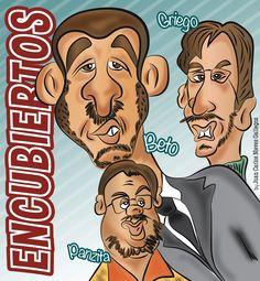 Encubiertos - Historieta - Comic - Webcomic - Juan Carlos Nieves - Caricature - Digital - Artwork