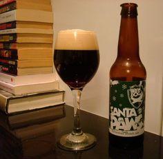 Cerveja BrewDog Santa Paws, estilo Scottish, produzida por BrewDog, Escócia. 4.5% ABV de álcool.