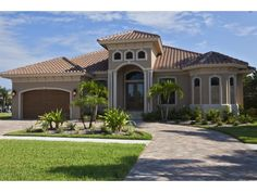 Breath Taking Florida Style Home Plan 175 1132 House Plans From