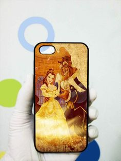 Beauty and The Beast Art iphone 5 case