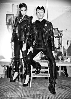 Mmm leather