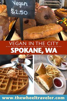 Where to find delicious vegan food in Spokane, Washington