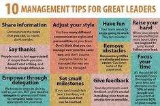 10 #Management Tips for Great Leaders   via @10MillionMiler #quotes #Leadership