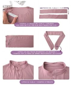 Tutorial paso a paso sobre cómo confeccionar un vestido camisero con patrón incluido Sewing Basics, Sewing Hacks, Sewing Tutorials, Dress Sewing Patterns, Clothing Patterns, Fashion Sewing, Diy Fashion, Sewing Clothes, Diy Clothes