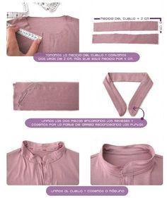 Tutorial paso a paso sobre cómo confeccionar un vestido camisero con patrón incluido