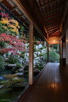 To dusk. by Tom go on 500px Japanese Garden Design, Japanese House, Japanese Gardens, Japanese Palace, Japanese Pergola, Japanese Garden Backyard, Japanese Dojo, Small Japanese Garden, Japanese Nature