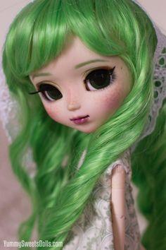 Wow me encanta mi color Verde de mi cabello