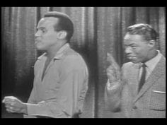 Nat King Cole & Harry Belafonte Mama Look A Boo Boo NBCTV '57Z.  LOVE THIS SONG