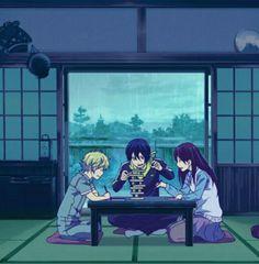 Yukine, Yato, Hiyori