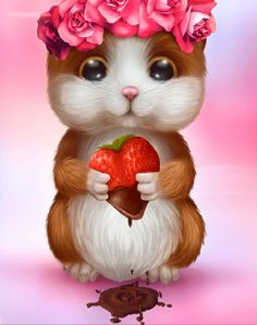 Cute Little Hamster Gif! Animiertes Gif, Animated Gif, Love Images, Love Pictures, Gif Bonito, Love You Gif, Gif Photo, Beautiful Gif, Glitter Graphics