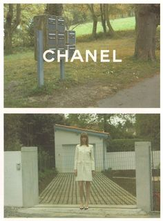 Chanel Fall 2001 by Karl Lagerfeld #campaign