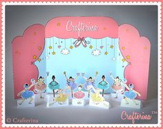 Playtime Tableau Set by Crafterina on Etsy, $7.50  www.Crafterina.com