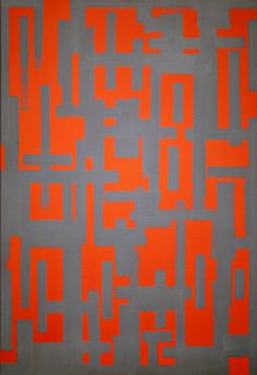 Ad Reinhardt, Untitled (Red and Gray), Oil on canvas. National Gallery of Art, Washington, collection of Robert and Jane Meyerhoff. Willem De Kooning, Jackson Pollock, Abstract Painters, Abstract Art, Ad Reinhardt, Modern Art, Contemporary Art, Francis Picabia, National Gallery Of Art