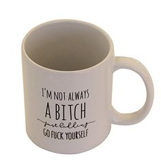 CouldBeauty Fashion Coffee Mugs With Funny Letters -- For more information, visit image link.(This is an Amazon affiliate link and I receive a commission for the sales)