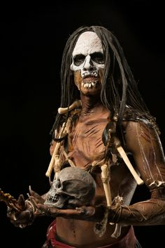 Face Off Pictures - View galleries of every episode. See photos from Face Off episodes and see the latest cast photos and more on SYFY! Face Off Makeup, Sfx Makeup, Face Off Syfy, Crane, Papa Legba, Baron Samedi, Voodoo Priestess, Prosthetic Makeup, Horror Makeup