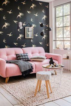 Relooking salon : des idées déco mettre de la couleur - Côté Maison