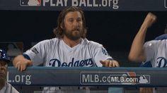 mlb baseball los angeles dodgers dodgers nlcs game 5 la dodgers trending #GIF on #Giphy via #IFTTT http://gph.is/2epFsgU