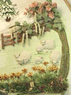 Stumpwork Embroidery Tutorial | Stumpwork Embroidery Patterns
