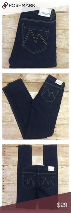 ❤️NY&C Curvy Skinny lower waist ❤️ NY&C Curvy Skinny Leg Tall these sit at lower waist NWT  size 2x35 Beautiful dark soft stretch denim. Pair with some cute heals or cuff and wear with sandals. Measurements waist 14.5 rise 8 inseam 35 😍😍😍😍😍😍 New York & Company Jeans Skinny