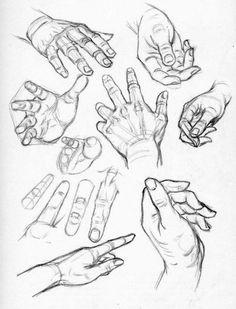 Mani da disegnare - Disegni da colorare - IMAGIXS
