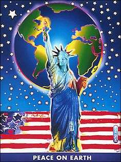 9-11 Peace On Earth : - Official Peter Max Site! Gallery Shows, Poster Shop & More! -