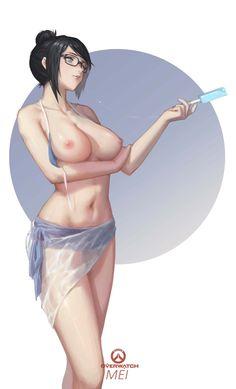 Mei - More at https://pinterest.com/supergirlsart #overwatch #fanart