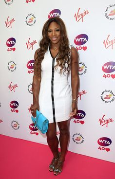 Serena Williams attends the annual WTA pre-Wimbledon party at Kensington Roof Gardens on June 20, 2013 in London, England.