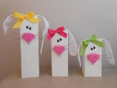 29 2x4 wooden bunnies   Easter Bunny Craft with Floppy Ears