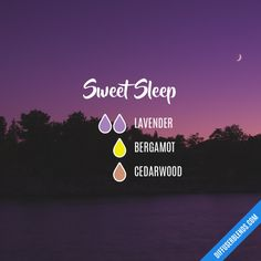 Sweet Sleep - Essential Oil Diffuser Blend