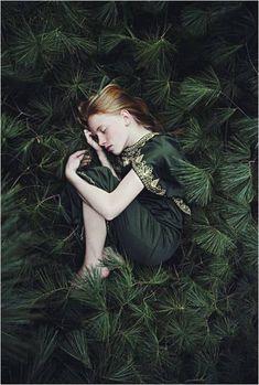 she hid in plain sight, huddled amongst the pine leaves