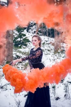 Winter smoke bomb photo shoot in Needle and Thread dress Photography Classes, Dance Photography, Photography Tips, Photography Composition, London Photography, Photography Awards, Photography Magazine, Wildlife Photography, Wedding Photography
