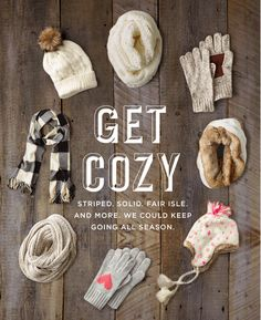 Get Cozy | Striped. Solid. Fair isle. And more. We could keep going all season. ae.com