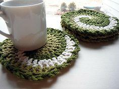 Ravelry: Swirling Coasters pattern by Jun M-B