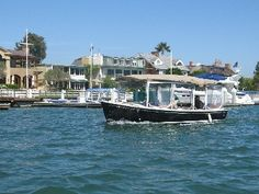 No better way to spend a sunny California day than in a boat cruising the waters in and around scenic Balboa Island