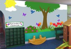 Outside Garden Classroom Mural Kit