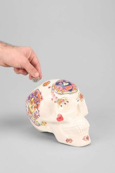 Magical Thinking Sugar Skull Bank