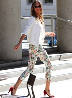 Gisele Bundchen... Perfect Outfit!