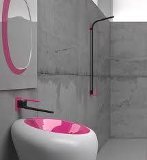 Karim Rashid designed a pink toilet. Yeah. That happened.